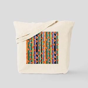 Candy Corn Stripe Tote Bag