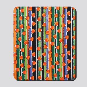 Candy Corn Stripe Mousepad