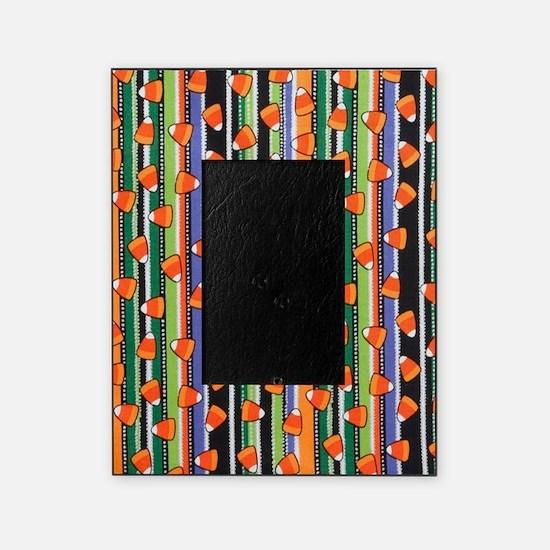 Candy Corn Stripe Picture Frame