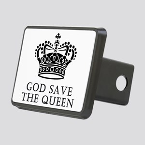 God Save The Queen Rectangular Hitch Cover