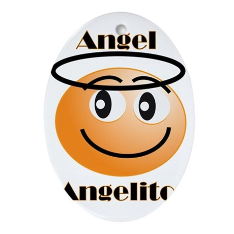Angel / Angelito Oval Ornament