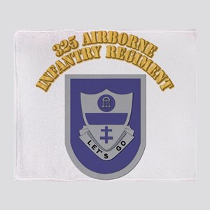 DUI - 325th Airborne Infantry Regiment with Text T