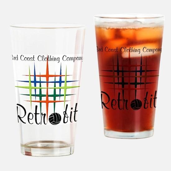 Retrofit T Drinking Glass