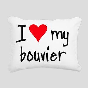 iheartbouvier Rectangular Canvas Pillow