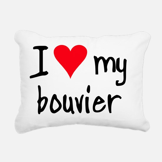 iheartbouvier Rectangular Canvas Pillow