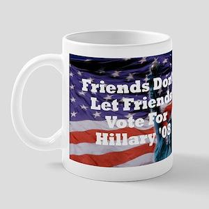 Hillary/Kennedy Mug