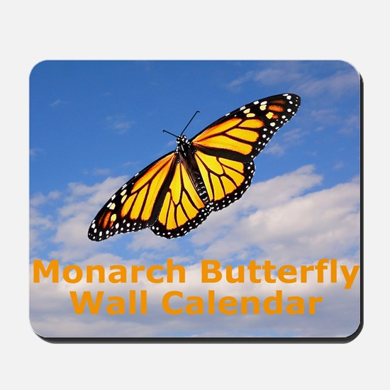 Monarch Butterfly Wall Calendar Mousepad