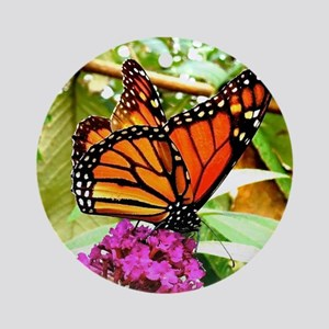 Monarch Butterfly Wall Calendar Pag Round Ornament