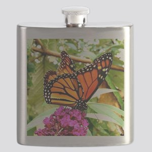 Monarch Butterfly Wall Calendar Page, Calend Flask