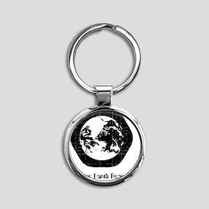 logo-shirt Round Keychain