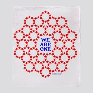 WE ARE ONE VII Throw Blanket