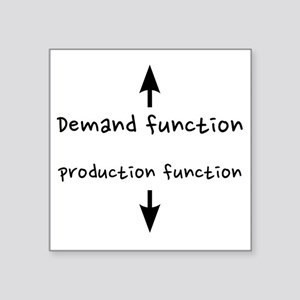 "fixed_demandproduction Square Sticker 3"" x 3"""