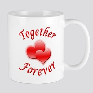 Together Forever Stainless Steel Travel Mugs