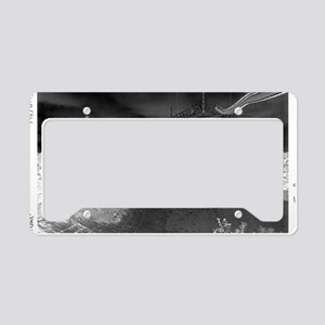 Alien Inversion Poster License Plate Holder