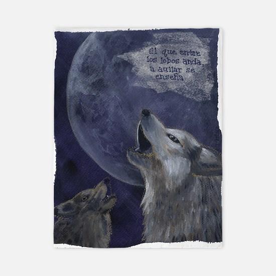wolves_howl Twin Duvet
