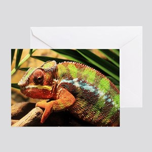 Panther Chameleon Mousepad Greeting Card