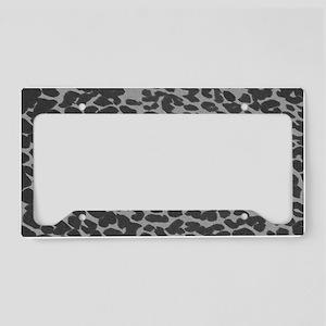 Gray Lep lap License Plate Holder