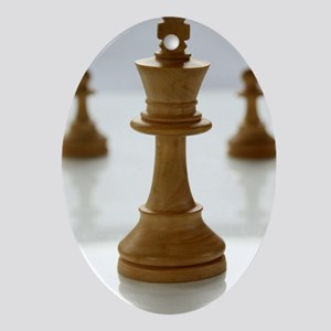 chess Oval Ornament