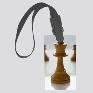 chess Large Luggage Tag