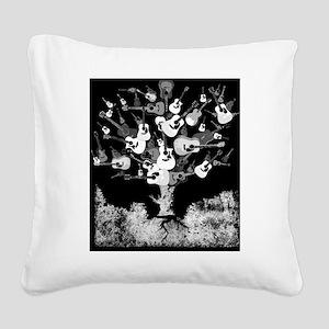 guitarjounrals2 Square Canvas Pillow