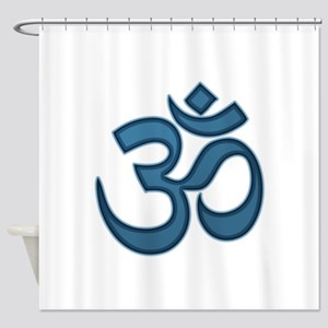Om symbol Shower Curtain