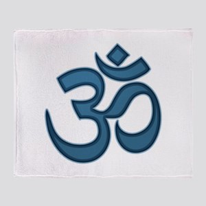Om symbol Throw Blanket