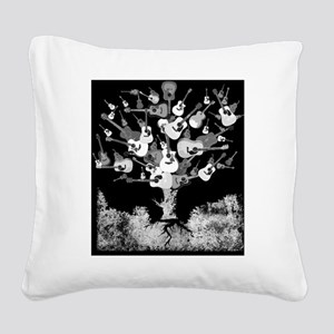 guitartreejournal1 Square Canvas Pillow