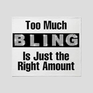 bling Throw Blanket