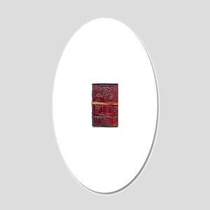 jfkdjfsal 20x12 Oval Wall Decal