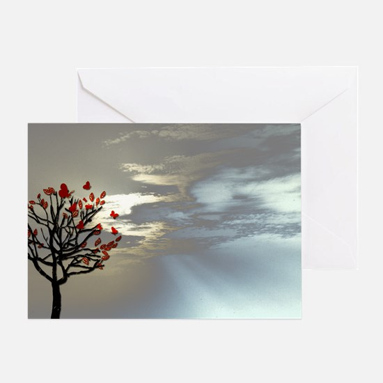 laptop_skin_Serenity at Dusk Greeting Card
