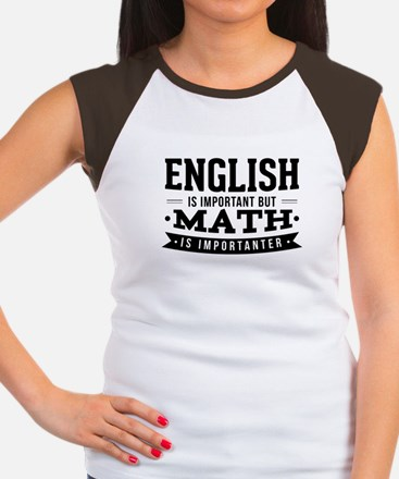 """The shirt reads """"English Is Important But T-Shirt"""