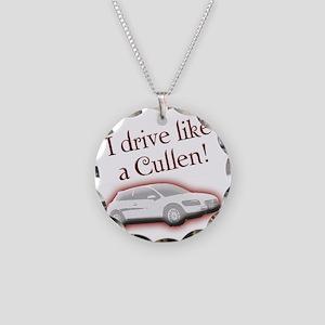 cullentilt Necklace Circle Charm