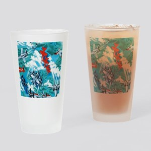 jets copy Drinking Glass