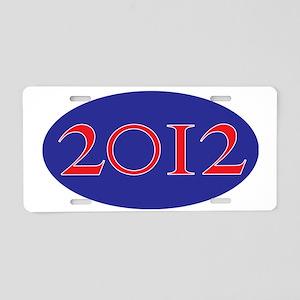 2012 Aluminum License Plate