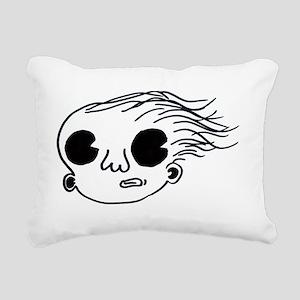 nickguyhair Rectangular Canvas Pillow