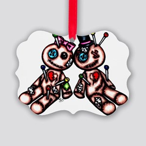 voodoo_doll_love Picture Ornament
