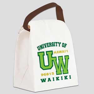 UWaikiki-10x10shirt Canvas Lunch Bag