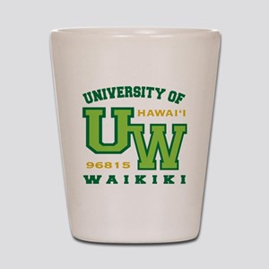 UWaikiki-10x10shirt Shot Glass