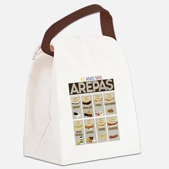 Unique Comida Canvas Lunch Bag