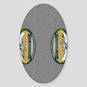 Galts Gulch Trading Co. Flipflops Sticker (Oval)