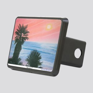 Swamis a shirt Rectangular Hitch Cover