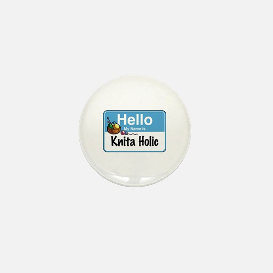 Hello My Name is... Mini Button