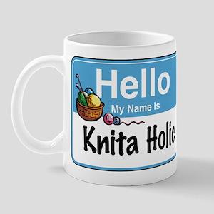 Hello My Name is... Mug