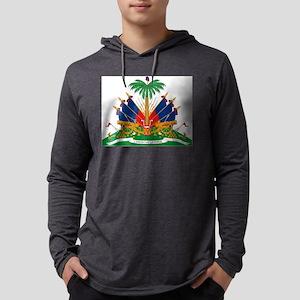 Haiti Coat of Arms Long Sleeve T-Shirt