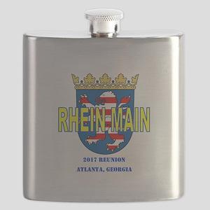 2017 Rm Reunion Logo Flask