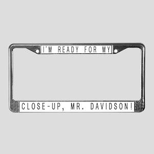 Mr. Davidson - License Plate Frame