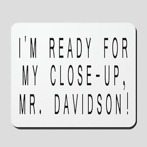 Mr. Davidson - Mousepad