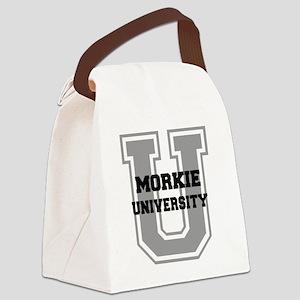 morkieu Canvas Lunch Bag