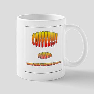 Coffee is Like Meth Mug Lefty