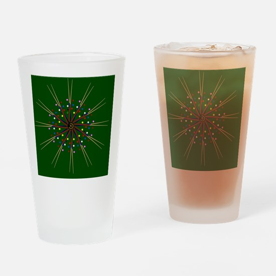 Funny Pocket art Drinking Glass